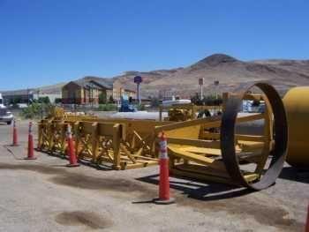 Michael Byrne Tunnel Boring Machine w/Jacking Unit