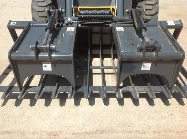 SGV78 SKELETON GRAPPLE W/COUPLERS 78