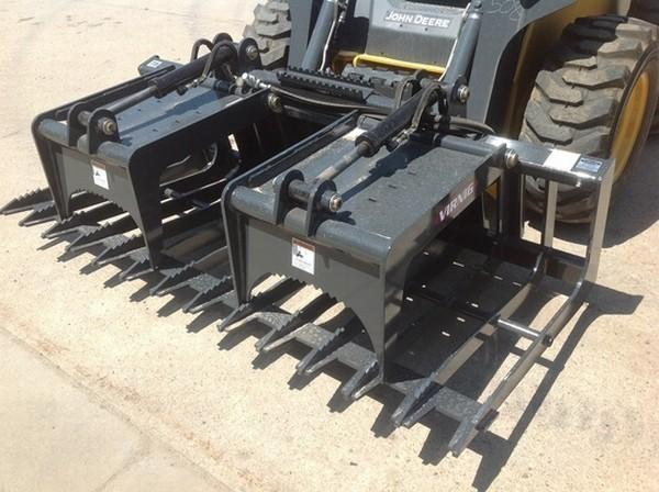 SGV84 SKELETON GRAPPLE W/COUPLERS 84
