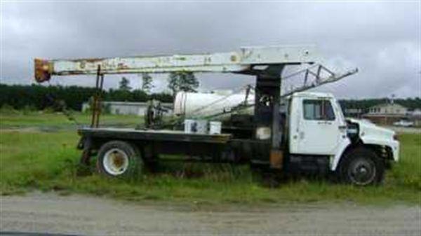 International 1954 Crane Truck