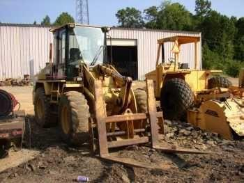 Caterpillar 914G Wheel Loader with Forks