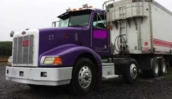 Peterbilt 385 Day Cab TRUCK with Drop Axle