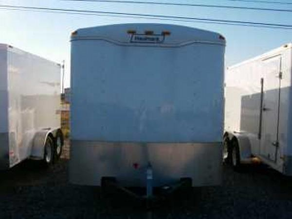 Enclosed B/P 7' x 16' Round Top Trailer